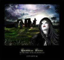 Goddess Dana by Eireen