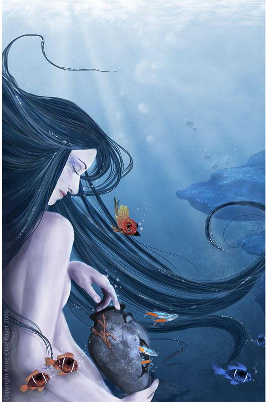 Peaceful ocean by Eireen