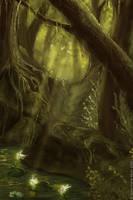 The Fairies Pond by Eireen