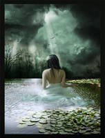 La vierge du lac by Eireen