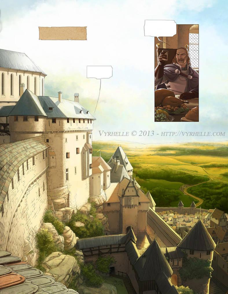 Les Chroniques d'Arcea Livre 2, page 1 by Vyrhelle-VyrL