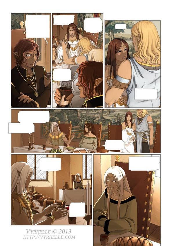 Les Chroniques d'Arcea Livre 2, page 3 by Vyrhelle-VyrL