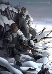 The Mark of Fenrir : Matt and Abel by Vyrhelle-VyrL
