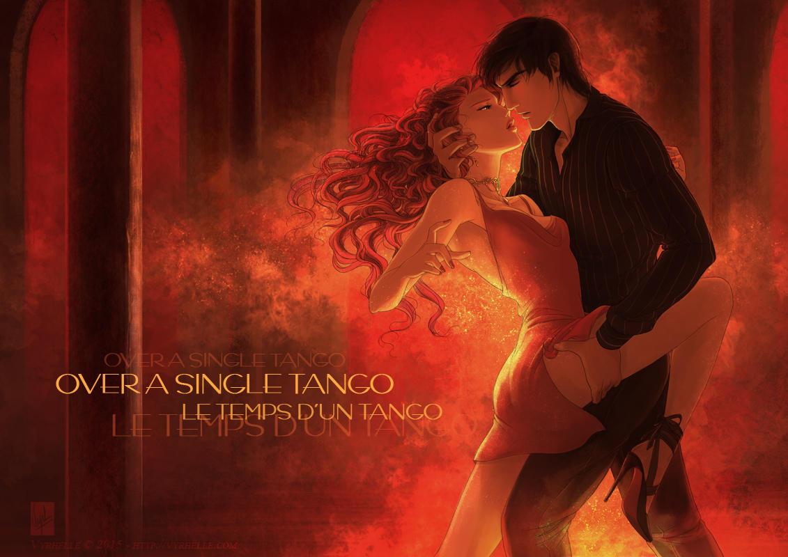 Over a single tango by Vyrhelle-VyrL