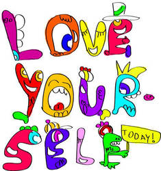 love yourself by Jareth-AladdinSane