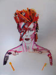 David Bowie by NadienSka