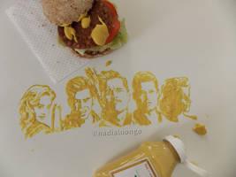 Inglourious Mustards by NadienSka