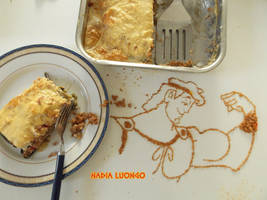 Hercules...made out of my moussaka by NadienSka