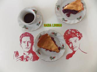 Agent Cooper + Laura Palmer (Twin Peaks) by NadienSka