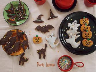 Halloween Vegan Cookies by NadienSka