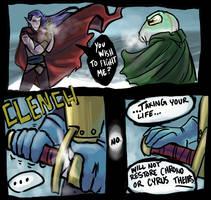 Chrono Trigger - Magus Showdow by bucketmouse
