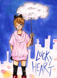 LuckyHeart - One shot- cover by SubaruMangaka
