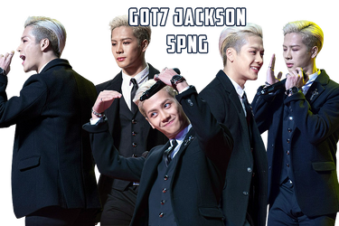 GOT7 Jackson PNG Pack {MAMA 2015} by kamjong-kai