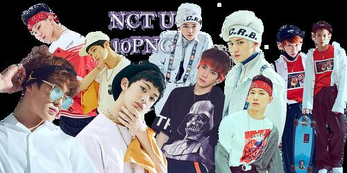 NCT U PNG Pack by kamjong-kai