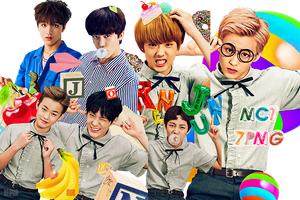 NCT DREAM PNG PACK {Chewing Gum} by kamjong-kai