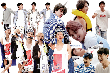 EXO PNG Pack {Dear Happiness Part. 1} by kamjong-kai