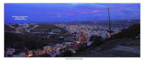 Albaha Sunset by alwafy