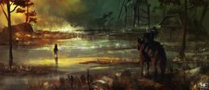 Witcher by nemofish1001