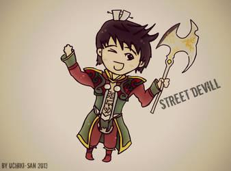 Metin2 Fan Art - Street Devill by UchikiSan