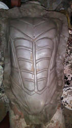 Nightwing Arkham City Chest Armor Sculpture by WayneTech-SPFX