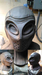 Deadshot Mask Sculpture by WayneTech-SPFX
