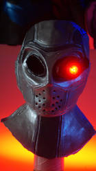 Deadshot Full Deluxe Mask With Monocle by WayneTech-SPFX