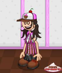 Ashley in cupcakeria (2) by davisgal1