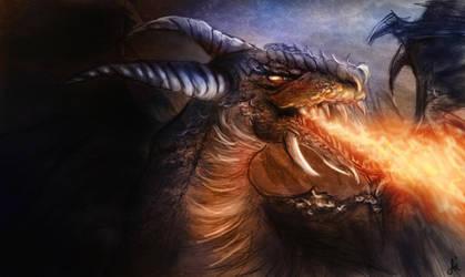 Dragon by AiDerathar