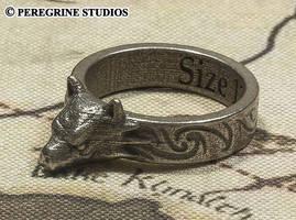 Hircine's Ring (Stainless Steel) by PeregrineStudios