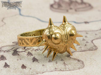 Ring - Majora's Mask (Polished Bronze) by PeregrineStudios