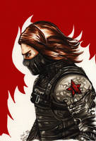 The Winter Soldier by PeaceMakerSama