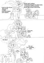 Spike's origns by Keriwi1