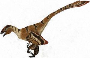 Saurornitholestes by Spikeheila