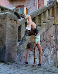Ledge handstand by sari-croft