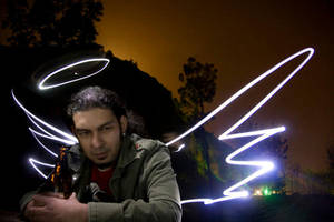 light painting at ghetto by scadamcil