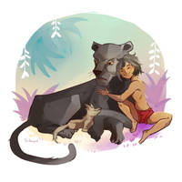 The jungle book by Silverpeel