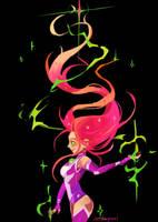 Starfire by Silverpeel