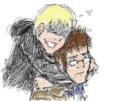 Doctor X Master hug by dangerpro