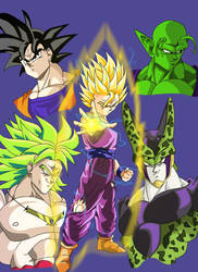 Gohan Unleashed by angers