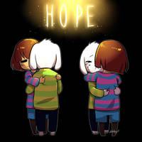 [Undertale] Hope by RebeccaMetroStory