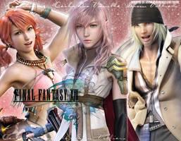 Final Fantasy XIII by OmniaMohamedArt