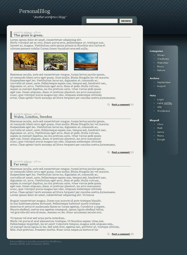 Wordpress quickie 2 by iNteRnDev