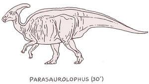 Parasaurolophus by PonchoFirewalker01