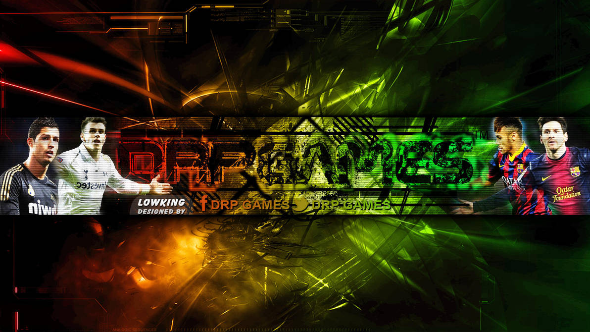 Drp Games Youtube Banner By Lowking Sfy By Lowkingarts On Deviantart