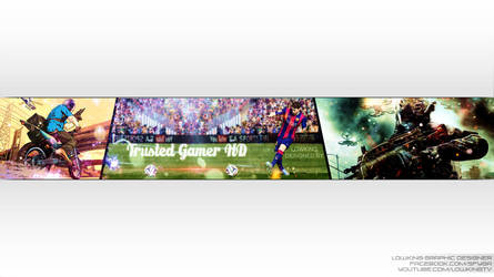Youtube Banners By Lowking Sfy By Lowkingarts On Deviantart