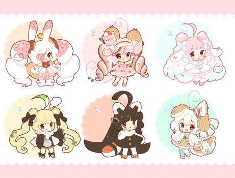 [Closed TY!!] FOOD+SWEETS+DESSERT Adopts Batch by Valyriana