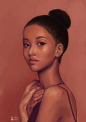 Portrait by S-Mikki