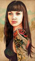 Tattooed 2 by brainleakage
