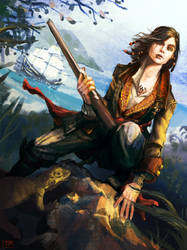 Mary Read: AC4 by brainleakage