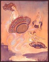 etruscan mythology by brainleakage